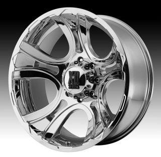 18 inch 18x9 XD Chrome Wheels Rims 8x6 5 8x165 1 Hummer H2 H2 SUT