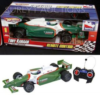 Hot Wheels R/C TONY KANAAN 7 11 Indy Race Car Series   REMOTE CONTROL