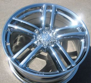 YOUR STOCK 4 NEW 19 FACTORY INFINITI M35 M45 OEM CHROME WHEELS RIMS