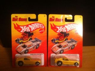 Hot Wheels The Hot Ones Show Hoss Mustang II Ford Funny Car Lot of Two