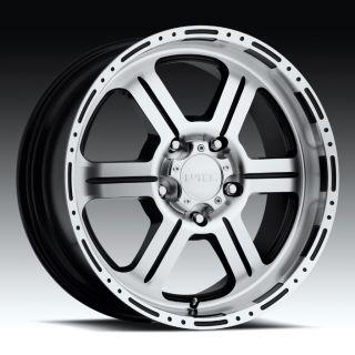 17 inch V ec 326 Machined Wheels Rims Dodge RAM 1500