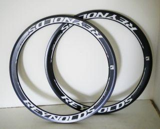 46 Carbon Clincher Road Rims Set 20 24 Hole Lightweight Wheels