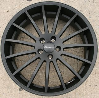 Giovanna Martuni 22 Black Rims Wheels Audi A8 22 x 9 0 5H 38