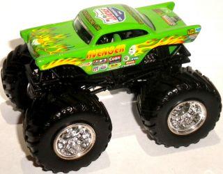 Light Green 57 Chevy Lucas Oil Hot Wheels Monster Jam Truck