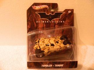 Hot Wheels 1 50 Scale Batman Begins Batmobile Camouflage Tumbler