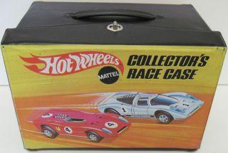 Vintage 1969 Hot Wheels Redline Collectors Case 48 Car Capacity