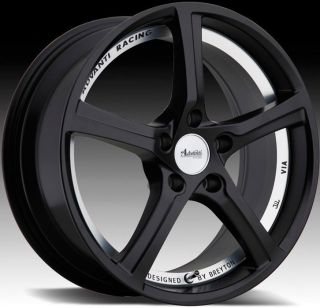 Racing 15th Anniversary 5x114 3 ET50 Matte Black Rims Wheels