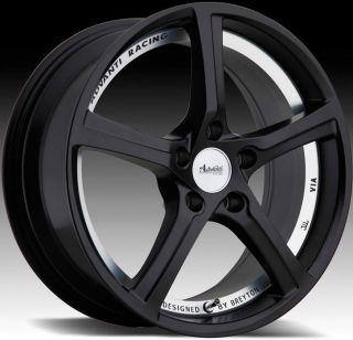 Racing 15th Anniversary 5x114 3 ET50 Matte Black Rims Wheels