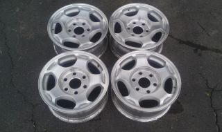 16 Chevy Tahoe GM Factory Wheels Silver Cap 5154