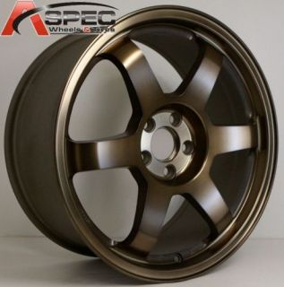 Rota Grid 17x7 5 5x100 ET48 56 1 Sport Bronze Wheels