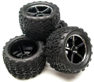 16 Scale E Revo Preglued Tires and Wheels 7107 Traxxas
