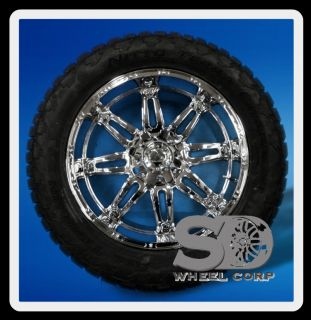 Hostage with 325 50 22 Nitto Terra Grappler Tires Wheels Rims