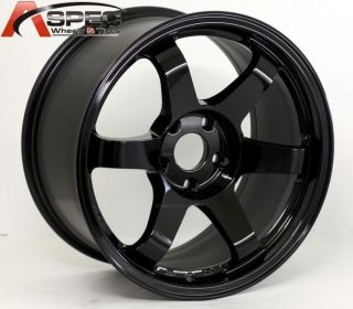 17x9 0 Rota Grid Wheels 5x100 Rims 42mm Yamaha Black