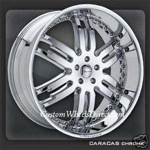 26x10 Caracas 6x5 5 30 Chevy Tahoe Suburban GM New Rim No Cap