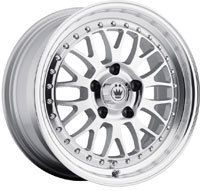 x7 5 KONIG ROLLER SILVER 4X100 W 35 OFFSET 44S RO7S10035S WHEELS RIMS