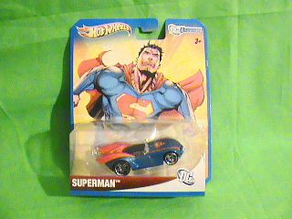 Hot Wheels DC Universe Superman Super Hero Vehicle Just Released 2012