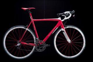 Rossetti Diablesse 52 SRAM Red Carbon Bike Suba Wheels