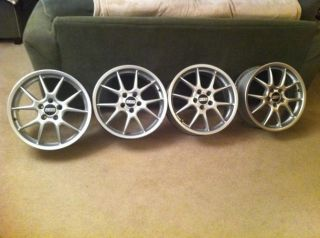 BBs RK 18 5x114 3 Wheels Set 4 Rims Toyota Lexus Camry Solara IS300