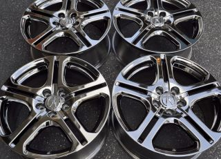 TL RL TSX MDX 4 CHROME FACTORY OEM WHEELS RIMS 18x8 71735 ACCORD CIVIC