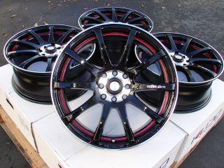 16 Effect Wheels Rims 4 Lugs Integra Accord Civic Prelude Sephia