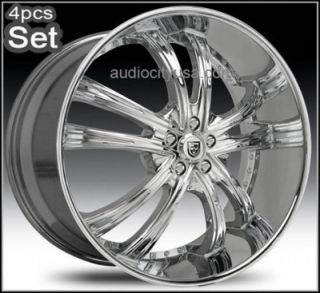 24 Lexani LSS55 Wheels Rims for Lexus Impala Honda Auio Jaguar