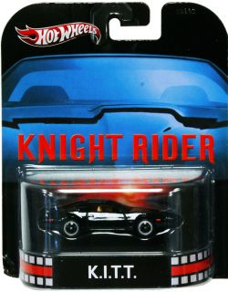 Hot Wheels Retro Entertainment Knight Rider Kitt 82 Pontiac Trans Am