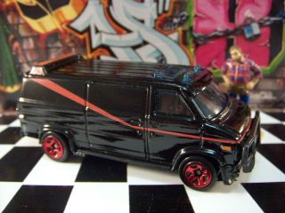 11 Hot Wheels GMC The A Team Van Mint Loose 1 64 Scale