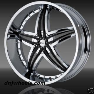 Blitz Chrysler 200 300 Charger Magnum Challenger Chrome Wheels Tires