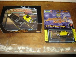 Hot Wheels American Graffiti 55 Chevy 32 Limited Ed Revell 32 Coupe