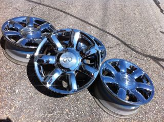 QX56 Nissan Titan Armada Stock Factory 18 Chrome Wheels Rims