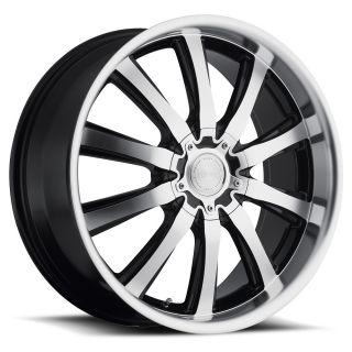20 inch 20x8 5 Katana KP2 Black Wheels Rims 5x4 5 Accord Prelude Civic