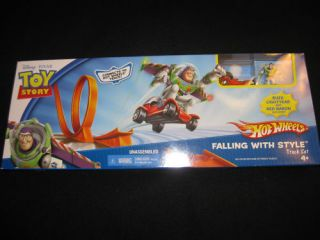 Toy Story Buzz Falling with Style Hot Wheels Track