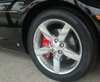 2010 Chevy Camaro Powder Coated Wheel Caliper Covers