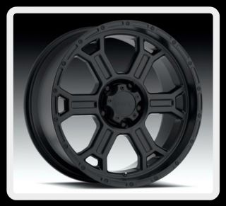 TEC 372 RAPTOR 16 INCH BLACK 6X5 5 SIERRA AVALANCHE TAHOE WHEELS RIMS