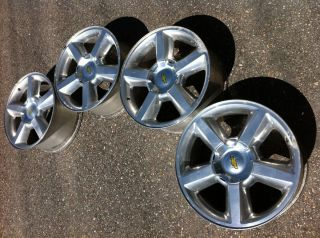 CHEVY 1500 SILVERADO TAHOE AVALANCHE 20 OEM STOCK FACTORY WHEELS RIMS