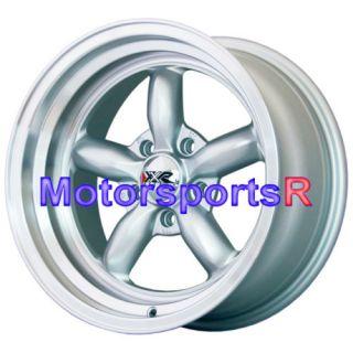 16 16x8 XXR 512 Silver Rims Deep Dish Wheels Stance 5x114 3 98 Nissan