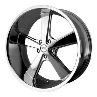 18 inch Chrome Nova Wheels Rims 5x4 5 5x114 3 Caliber Intrepid Stealth
