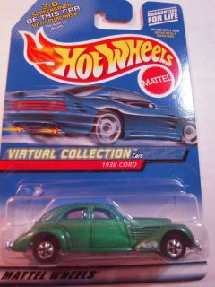 Hot Wheels Virtual Collection 97 1936 Cord
