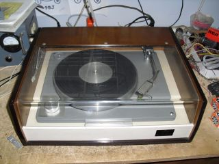 1967 Vintage Pioneer PL 6 Rim Drive Manual Turntable