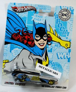 Hot Wheels Nostalgia DC Comics Batgirl 1959 59 Cadillac Funny Car