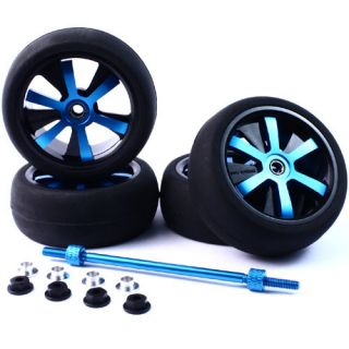 Alloy Spinner Wheels for 1 10 RC Car Suit Tamiya HPI Traxxas