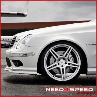 SL550 SL55 SL600 SL63 Incurve IC S5 Concave Silver Rims Wheels