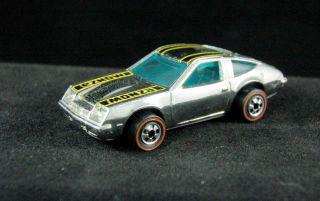Redline Hot Wheels Chevy Monza 2 2 Chrome RARE Condition