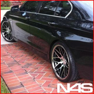 645 650 6 Series Vertini Magic Concave Staggered Wheels Rims