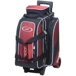 Storm 2 Ball Rolling Thunder Bowling Bag with Wheels Red
