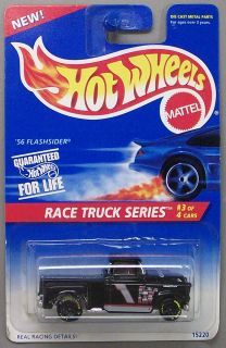 56 Flashsider Race Truck Hot Wheels 1 64 Scale Diecast Car