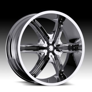 20 Millani Bell AIR6 Chrome Wheels Chrysler 300 Dodge