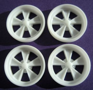Resin 1 25 20 Modern 65 Shelby Wheels Pro Touring