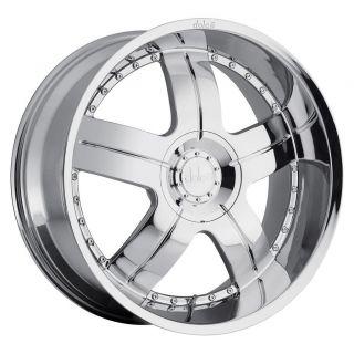24 inch 24x9 5 Dolce DC22 Chrome Wheels Rims 6x5 5 6x139 7 18 SLX