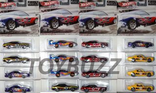 2012 Hot Wheels 1 64 Racing Series Muscle SEALED B Case W8300 956B